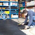 Garage Floor Tiles Interlocking Vinyl Flooring Heavy Duty Matting Gym Workshop