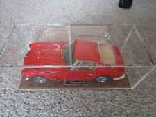 CMC 1/18 FERRARI 250 GT SWB Diecast + High Quality Display Case W/ Leather Base