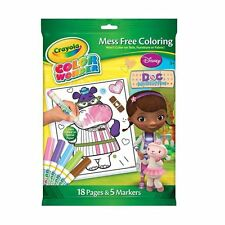 Crayola Color Wonder Set Doc Mcstuffins Disney lío gratis Colorante Actividad Pack