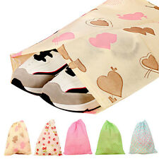 Neu Fashion Print Shoes Bag Portable Travel Storage Pouch Drawstring Dustproof