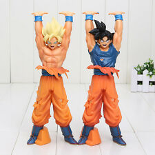 Dragon Ball Z Son Goku Battle Genki Dama Spirit Bomb Super Saiyan PVC Model