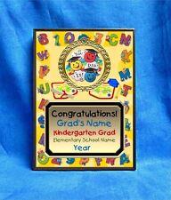 Graduation Kindergarten Preschool Custom Personalized Award Plaque Gift Grad