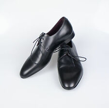 New. EDWARD GREEN For RALPH LAUREN PURPLE LABEL Waltham Black Shoes 7.5 $995
