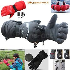 2000mAh Battery Rechargeable Electric Heated Hands Outdoor Winter Warmer Gloves