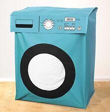 Blue Novità LAVATRICE grandi CESTO PORTABIANCHERIA CESTO CESTA Sacca lavanderia in ordine in modo