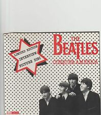 Beatles-Conquer America UK interview picture cd.