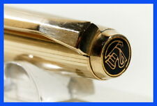 PELIKAN 30 ball point pen BLACK & ROLLED GOLD / new refill in