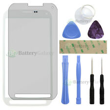 White LCD Screen Glass Lens Replacement+Guard for Samsung Galaxy S5 Active+Tools