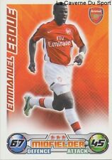 EMMANUEL EBOUE IVORY COAST ARSENAL.FC KSC.BEVEREN CARD PREMIER LEAGUE 2009 TOPPS