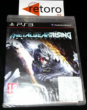 METAL GEAR RISING REVENGEANCE PS3 PLAYSTATION 3 PAL Español NUEVO Precintado NEW