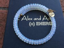 ALEX and ANI VINTAGE 66 Russian GOLD MASONIC STARLET Beaded Wrap BRACELET