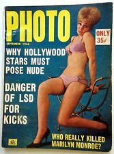 PHOTO Magazine SEPT '66 CLASSIC Nudie ADULT BUSTY LADIES Men's INTEREST Erotica