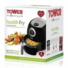 BRAND NEW Tower T17005 Low Fat Health Air Fryer 3.2L Black 3 year guarantee