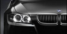 ►2X 3er BMW mit ORIGINAL SCHEINWERFER E90,E91 STANDLICHTER ANGEL EYES POWER LED