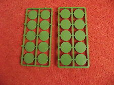 Renedra 25mm Round bases,( 20 )  suitable for Bolt Action