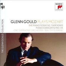 GLENN GOULD Plays Mozart 5CD BRAND NEW Piano Sonatas/Fantasias/Concert No. 24