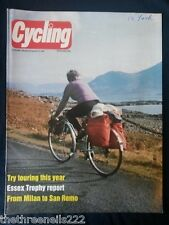 CYCLING - ESSEX TROPHY - APRIL 4 1981