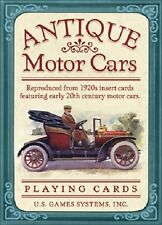 Antique Motor Cars Poker Deck Cards Wiccan Pagan Metaphysical
