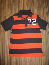 John Devin Poloshirt Shirt Gr.S schwarz-orange TOP