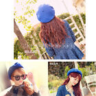 Fashion Women's Warm New Beanie Wool French Berets Tam Beanie Slouch Hat Hot