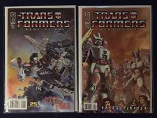 Transformers Best of UK  # 1 and 5 NM IDW 2008