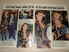 BRIGITTE NIELSEN clipping articolo fotografia foto photo 1992 AS35