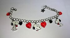 Unwanted SNOOPY DOG Adjustable Charm BRACELET Free GIFT Bag Christmas