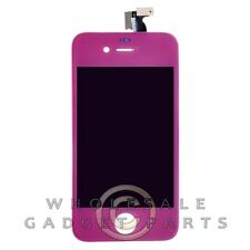 LCD Digitizer Frame Assembly for Apple iPhone 4 CDMA Purple  Front Glass Touch