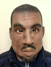 Deluxe Kanye Gold Digger Mask Overhead Latex Rapper Fancy Party West Masks