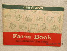 1960 Farm Book and Almanac Handy Hints for Farmers Advertises Cities Service