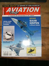 Aviation Design N°4 Aéronautique SAAB Gripen Falcon 2000 Eurocopter Tigre HAP