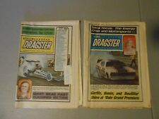 LOT OF 2 JANUARY 1974 NATIONAL DRAGSTER NHRA,NEWSPAPERS,CLAYTON,GARLITS,JUNGLE