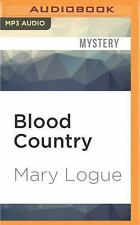 Claire Watkins: Blood Country 1 by Mary Logue (2016, MP3 CD, Unabridged)