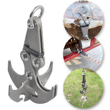 Stainless Steel Gravity Grappling Hook Survival Magnetic Climbing Claw Carabiner