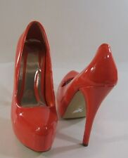 "CORAL 5.5""high Stiletto heel 1.5"" platform close  toe sexy shoes   Size.  9"
