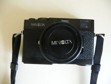 Minolta CLE Rangefinder Camera with F2 40mm lens