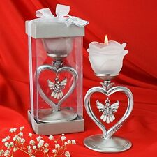 Angel Designed Candle Holder - One Item with Box