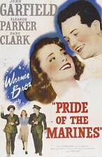 PRIDE OF THE MARINES Movie POSTER 27x40