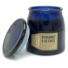 Blythe and Flint Bergamot Vetiver Scented Candle 15 Oz Poured in the USA