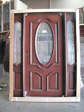FREE SHIPPINGl!!!   Solid Mahogany Wood Door, Prehung & Finished TMH7350-5-Z RH