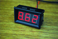 Red LED Digital Volt Meter DC 3.5V~30 V For 9V 12V 24V USA SELLER A177