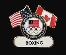 TORONTO 2015 Pan Am Olympic Games Lmtd USA Boxing delegation team pin