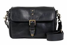 "ONA ""The Bowery"" Black Leather Camera Bag -  Timeless Handcrafted Quality"