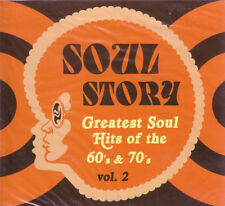 Soul Story - Greatest Soul Hits of the 60's & 70's Volume 2 2 CD Set