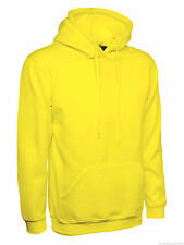 Mens Hoodie Size XS to 4XL Plain Hooded Sweatshirt Premium Sports / Casual