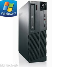 Lenovo Thinkcentre M91p Intel Core i5 2nd generación 3.1GHz 8GB Ram 500GB HDD Win7 Wifi