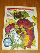 FUTURE TENSE AND VALOUR #32 MARVEL BRITISH WEEKLY 10 JUNE 1981 CONAN MICRONAUTS