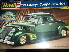 REVELL 1939 CHEVY COUPE STREET ROD LOWRIDER 1/24 Model Car Mountain KIT fs
