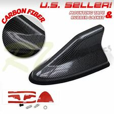 FITS CADDY AND MAZDA ONLY! AERO SHAPE SHARK FIN TOP MOUNTED ANTENNA CARBON FIBER