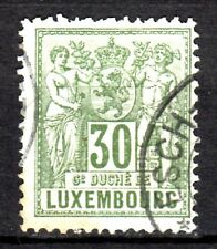 Luxembourg - 1882 Definitives allegoric - Mi. 53B (perf. 13,5) VFU